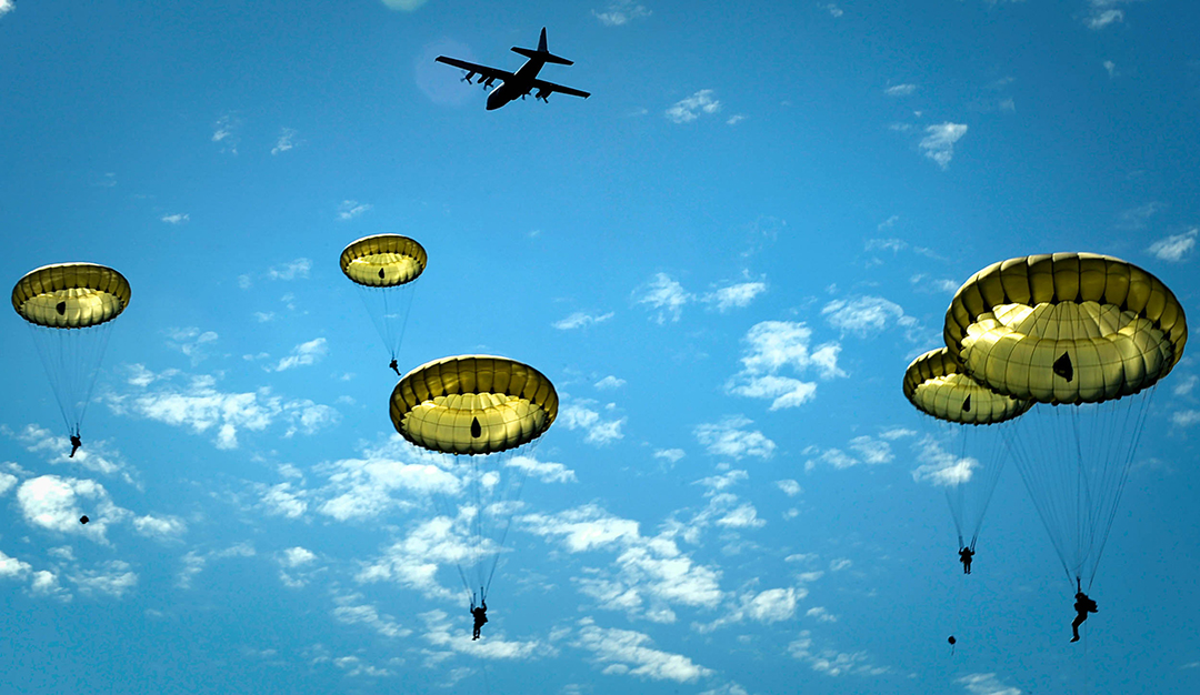 Parachute Demonstration to Recognize 75th Anniversary of D-Day on Founders Day
