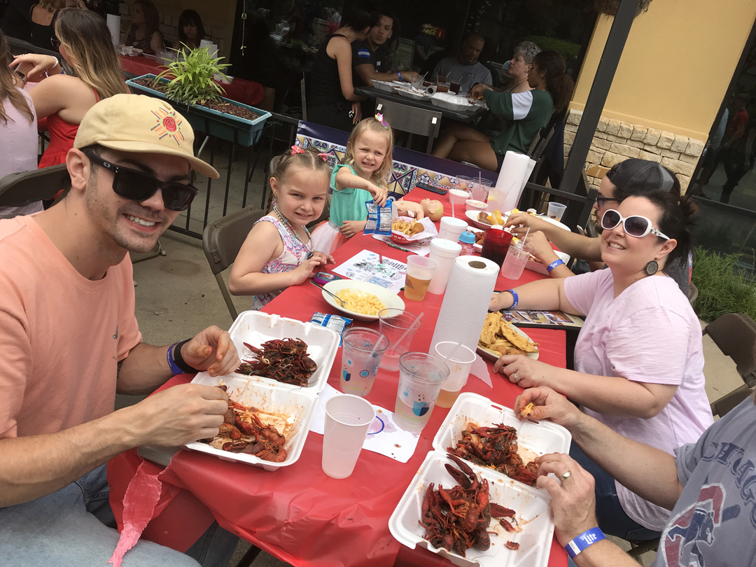 Mudbugs and Music Raise 'Crawfish Cash' for Angel Campers