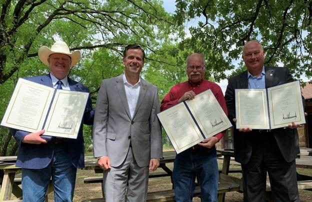 Rep. Ratcliffe Attends Lake Fannin Celebration with Local Leaders