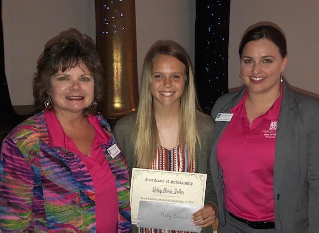 Royse City High School Senior Receives Susan Faulkner Memorial Scholarship