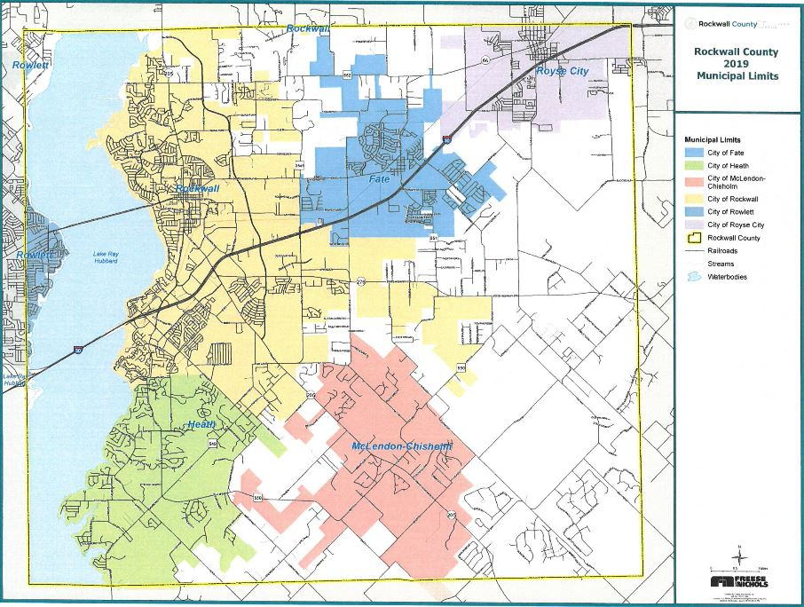 Commissioners Discuss Rockwall County Subdivision Regulations