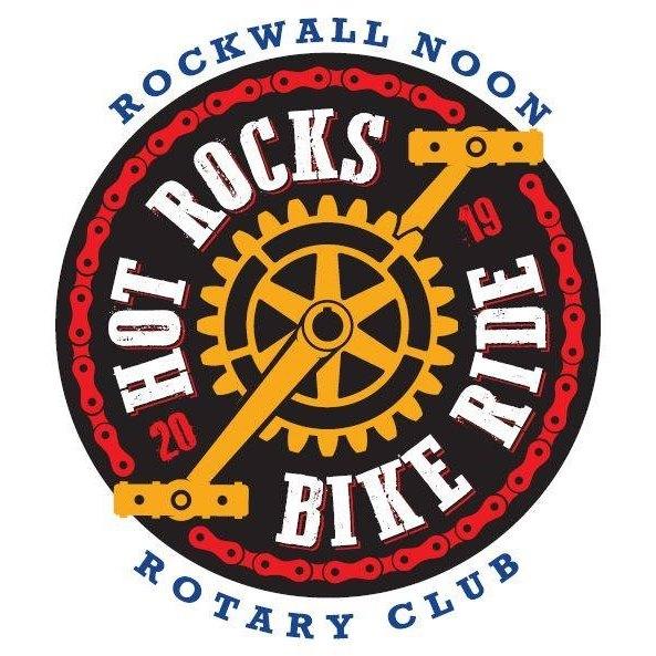 Hot Rocks Bike Ride 2019 logo