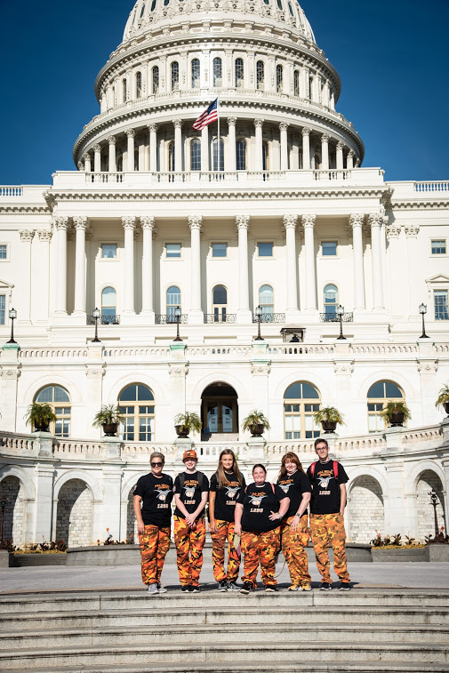 Rockwall High Robotics Visits Washington D.C.
