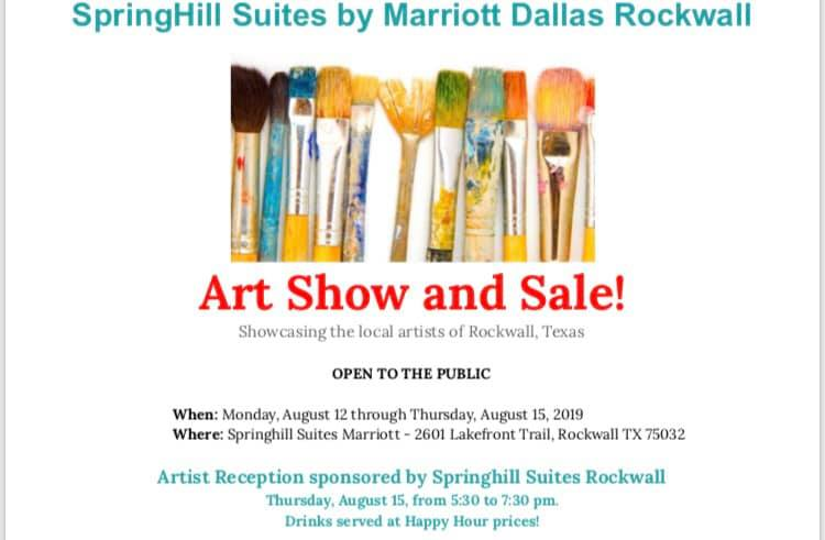 Artist Reception Thursday at Springhill Suites