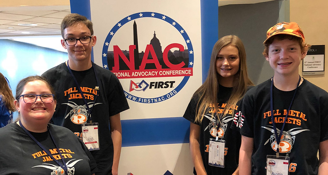 Rockwall High Robotics Advocates for STEM Funding in Washington, DC