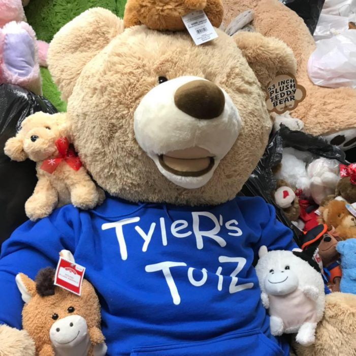 Tyler's Toyz: Local boy's legacy lives on through donations of stuffed animals