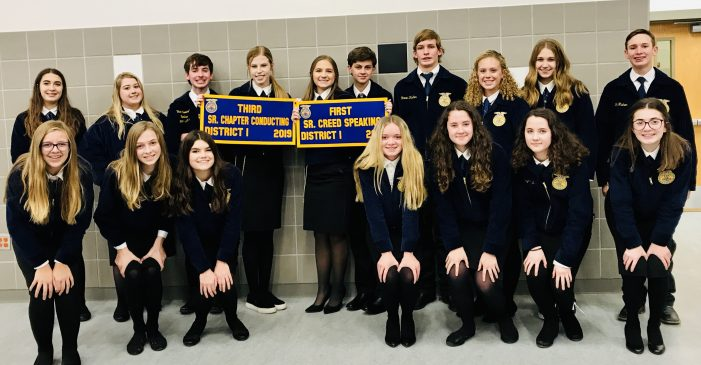 Rockwall ISD FFA brings home district awards