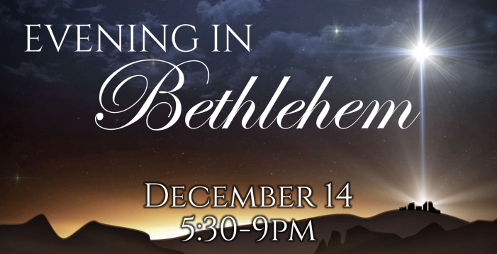 Evening in Bethlehem at Ridgeview Church Rockwall