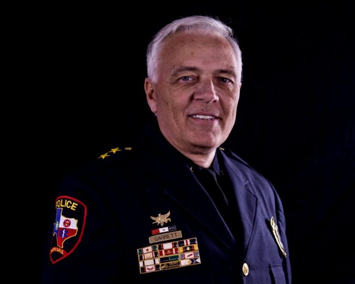 Terry Garrett announces run for Rockwall County Sheriff