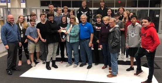 Rockwall Breakfast Rotary Partners With Black Hawks Robotics