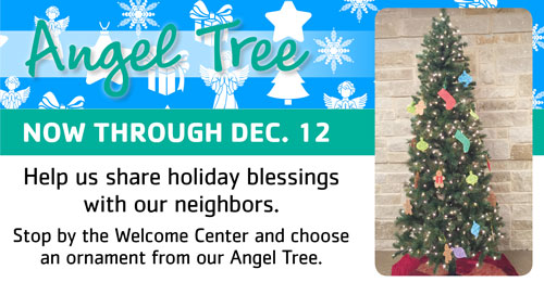 Bless local families this season through Rockwall YMCA's Angel Tree