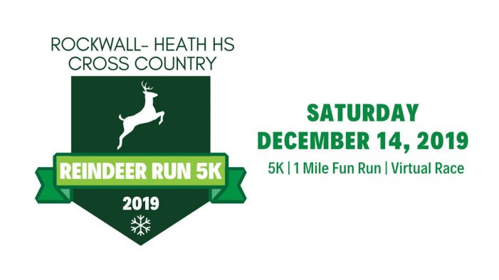 Teams forming now for Rockwall-Heath Reinder Run Dec 14