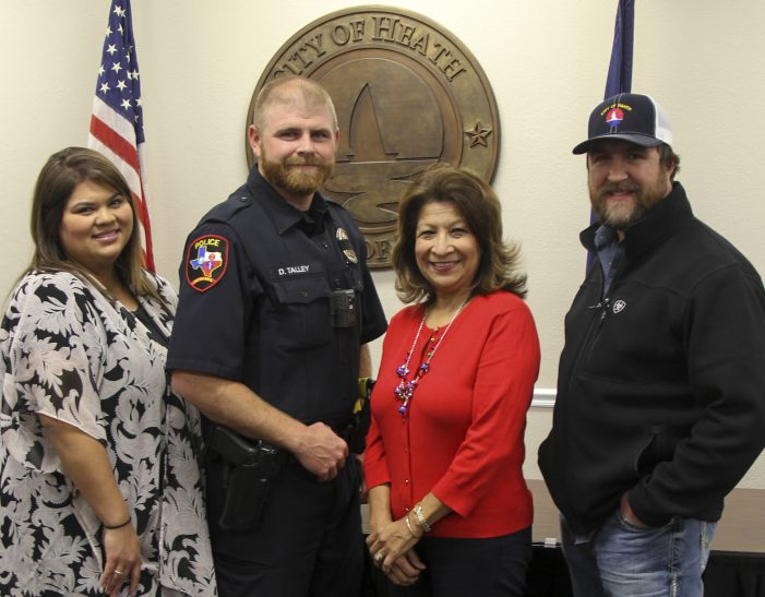 City of Heath recognizes Employees of the Year