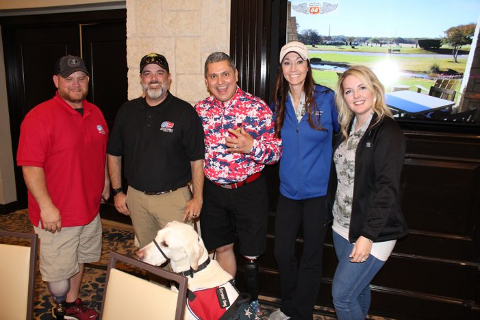 Patriot PAWS Service Dogs benefits from Business Jet Cares golf tournament