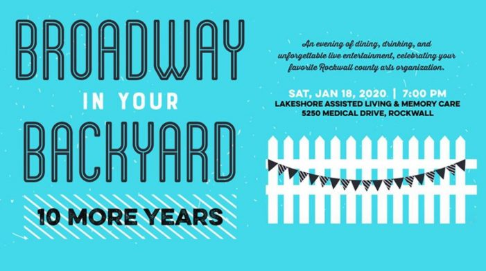 Broadway in your Backyard: Rockwall Summer Musicals to host 10th Anniversary Gala