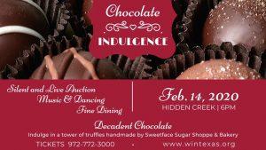 Chocolate Indulgence @ Hidden Creek Event Center