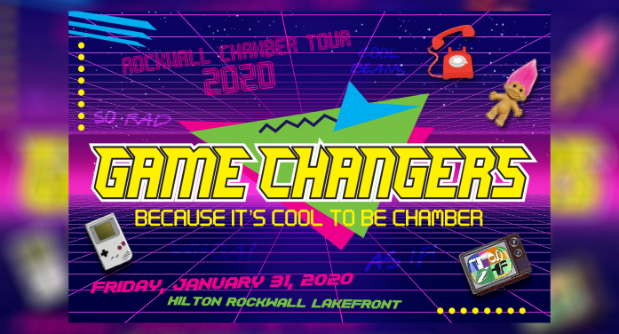 Rockwall Chamber presents 'Game Changers' Annual Meeting 2020
