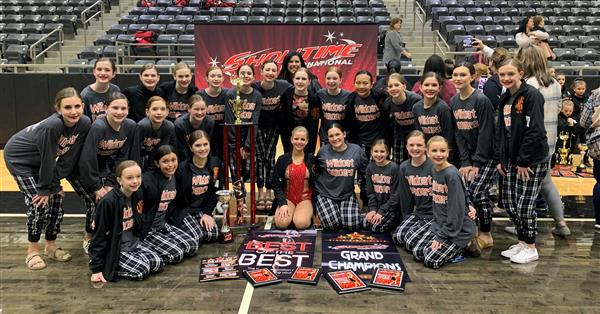 Rockwall's Williams Wildcat dancers earn awards at TVCC Cardette Extravaganza