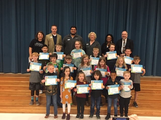 Rockwall Kiwanis honor 'Terrific Kids' at Billie Stevenson Elementary