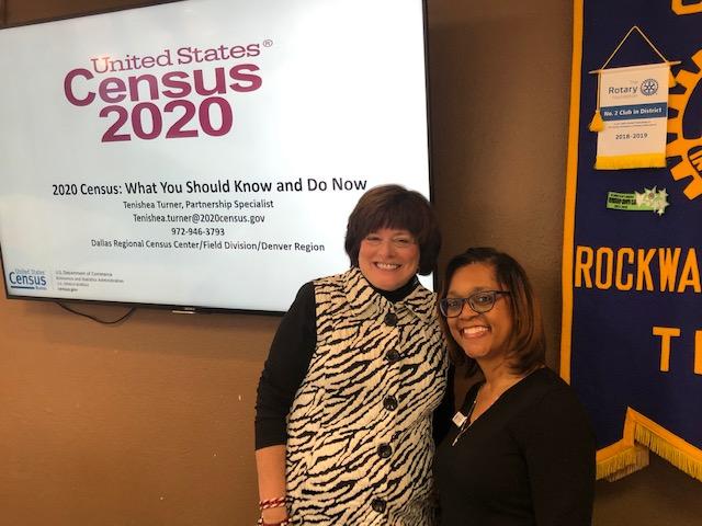Rockwall Breakfast Rotary hears update on U.S. 2020 Census