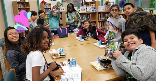 Lunch in the Library: Rockwall's Jones Elementary students fill up on reading