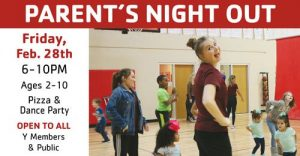 Parent's Night Out at Rockwall YMCA @ JER Chilton YMCA at Rockwall
