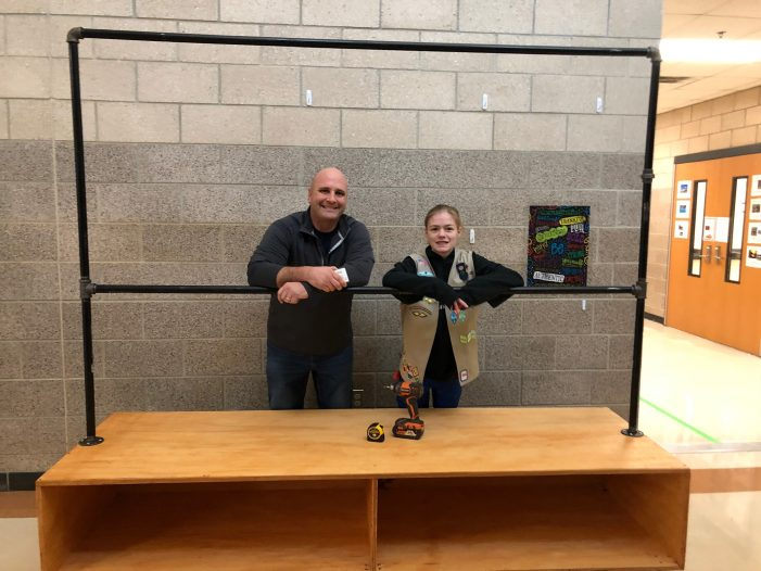 Former Shannon Elementary student builds lost and found cart for school
