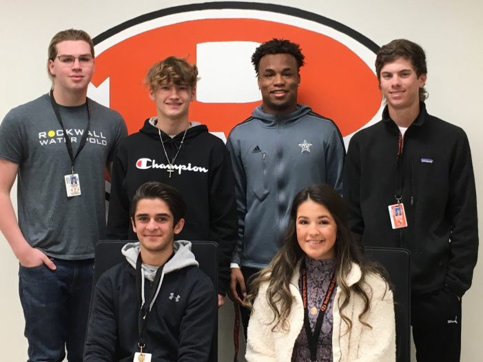 Jacket Backers recognize Athletes of the Month