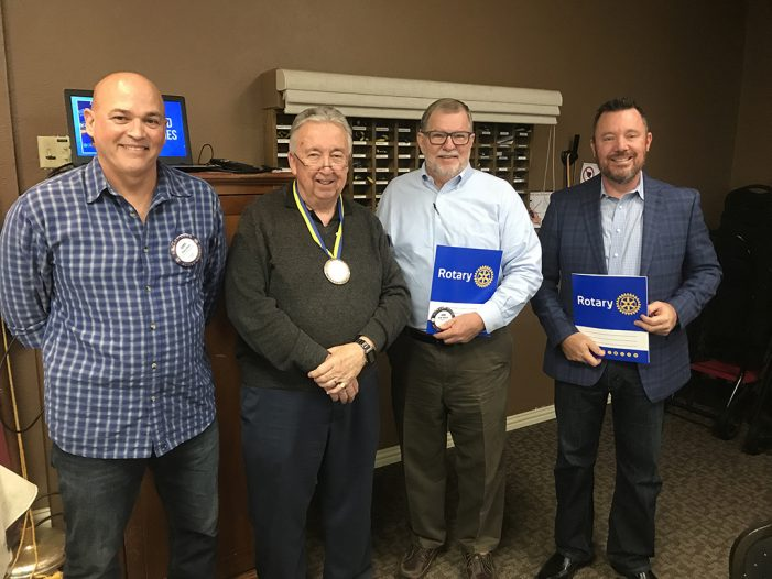 Rockwall Noon Rotary inducts new members