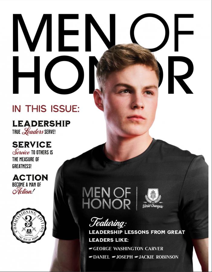 Rowlett-based Men & Ladies of Honor release latest 'Men of Honor' magazine curriculum