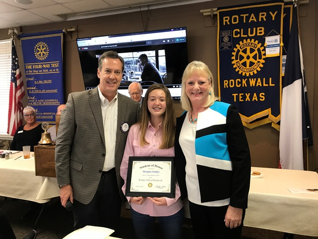 Rockwall Rotary names Student of Honor from Jones Elementary