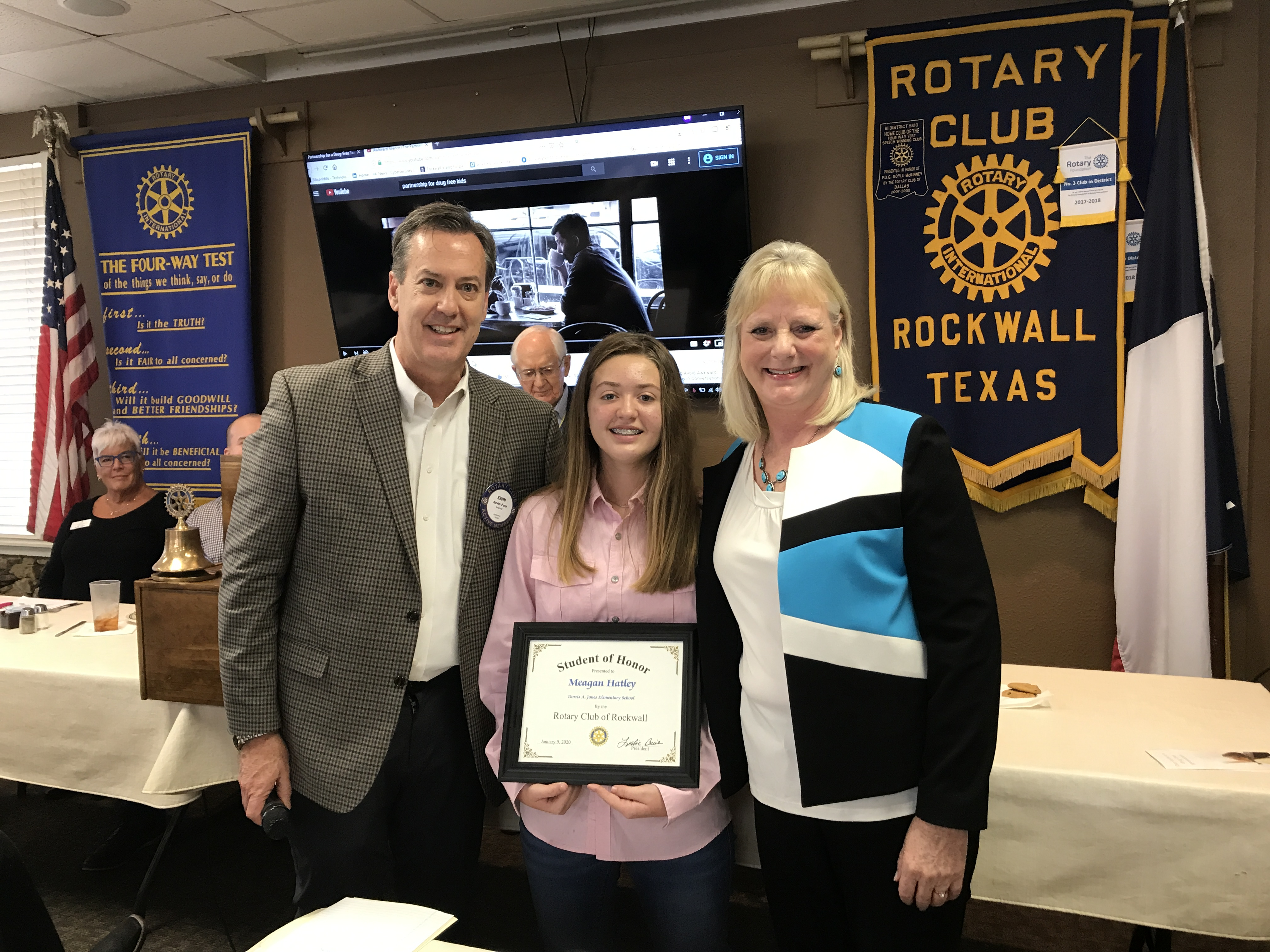 rotary student of honor