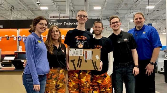 Rockwall High School Robotics Booster Club receives grant from Best Buy Foundation
