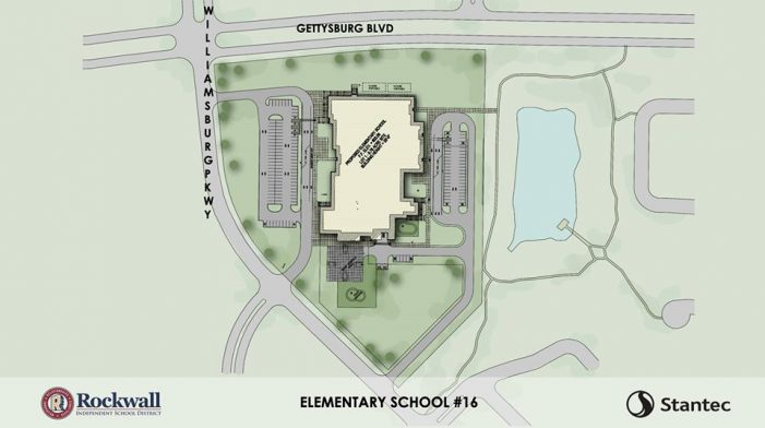 Rockwall ISD Board of Trustees approves land site for Elementary School 16