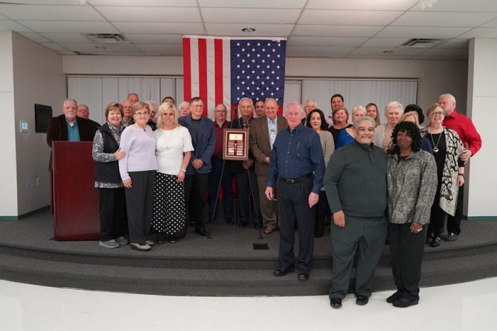 Rockwall Police Department honors C.O.P. volunteers for service to the city