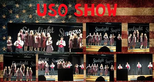 Amy Parks-Heath Starlight Singers host 21st Annual USO Show