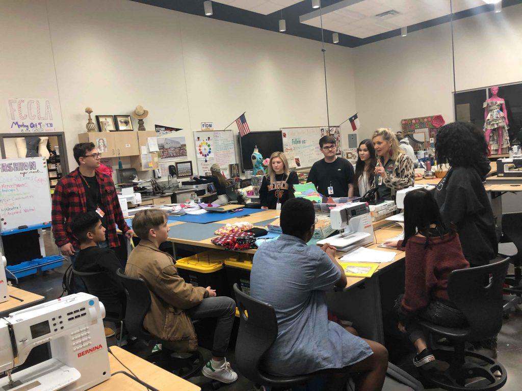 Dr. Gene Burton College & Career Academy hosts 8th graders