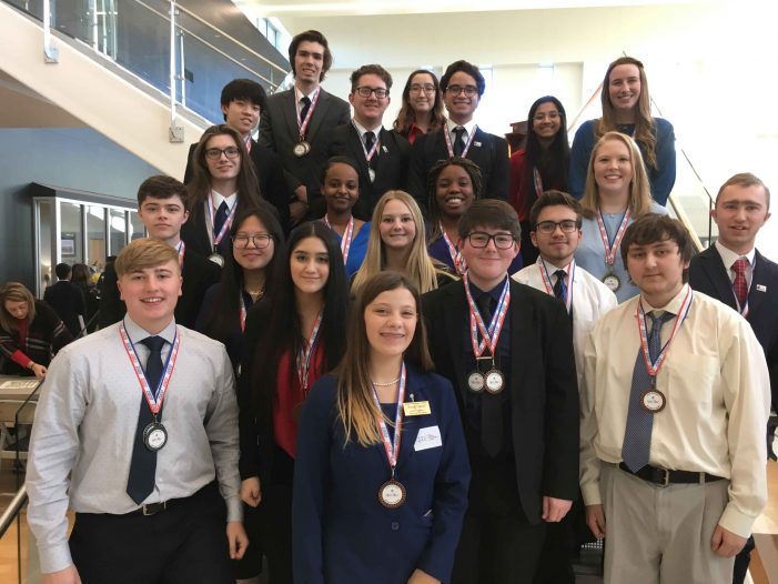 Business Professionals of America students advance to state