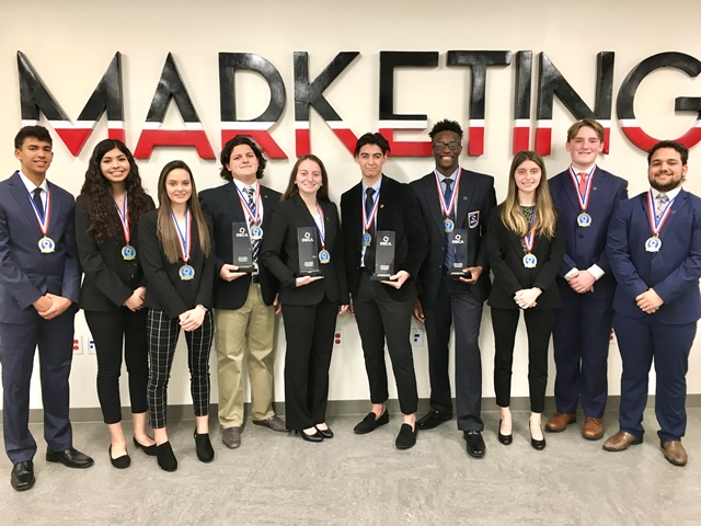 Ten Rockwall ISD DECA students named state finalists, four advance to international competition