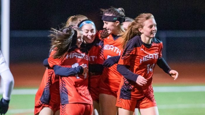 Heath Lady Hawks take the win in second home game