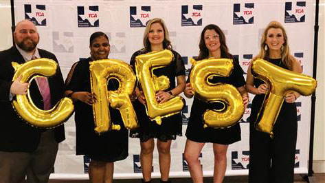 Rockwall High School counselors honored with CREST Award