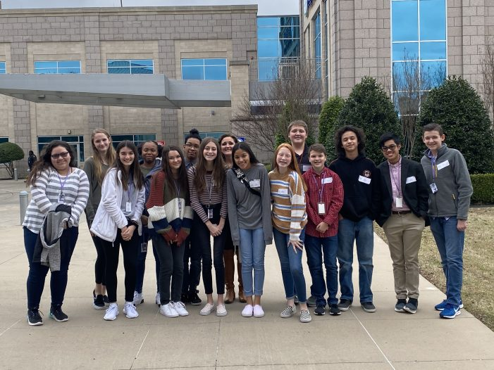 Rockwall ISD Business Information Management students participate in Job Shadow program