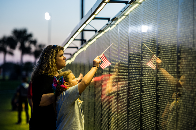 The Wall That Heals, Vietnam Veterans Memorial, coming to Garland