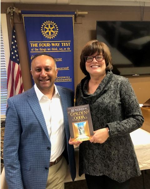 Beyond the Golden Door: Rockwall Breakfast Rotary welcomes Ali Master