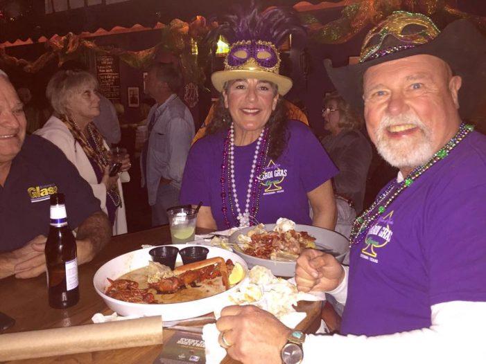 Mardi Gras, Pardi Gras at Dodie's Cajun Diner at Rockwall Harbor