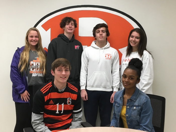 Rockwall Jacket Backers celebrate Athletes of the Month