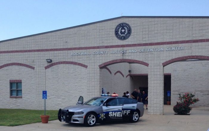 Rockwall County Detention Center suspends visitation