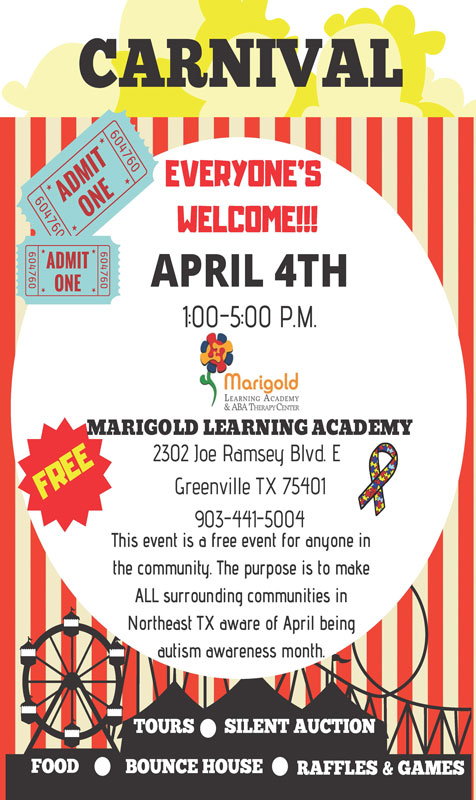 Marigold Learning Academy Carnival