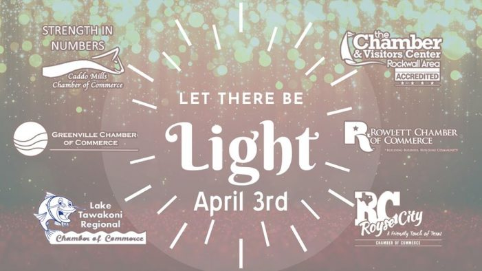 Rockwall Chamber: Unite with Light on Friday, April 3
