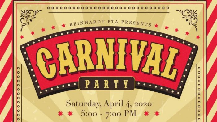 Families welcome at Reinhardt Elementary Carnival April 4